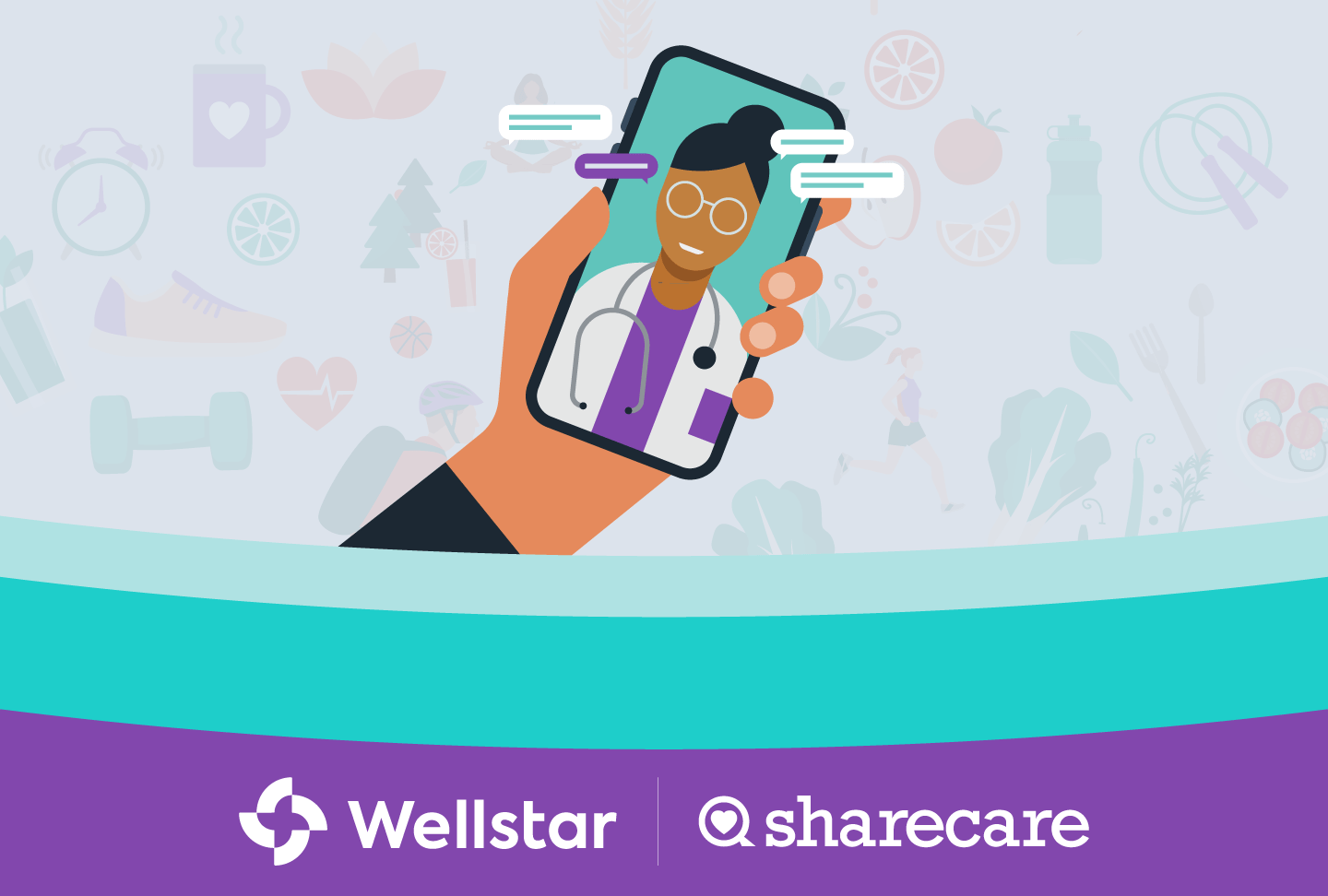 Wellstar Sharecare Enter Partnership Delivering Personalized Health Wellness Platform Image